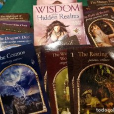 Barajas de cartas: BARAJA TAROT WISDOM OF THE HIDDEN REALMS. Lote 113516211