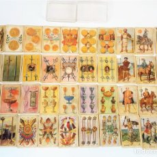 Barajas de cartas: ANTIGUA BARAJA DE NAIPES. EXPOSICIÓN IBERO AMERICANA. FOURNIER. ESPAÑA. AÑO 1929.. Lote 113556415
