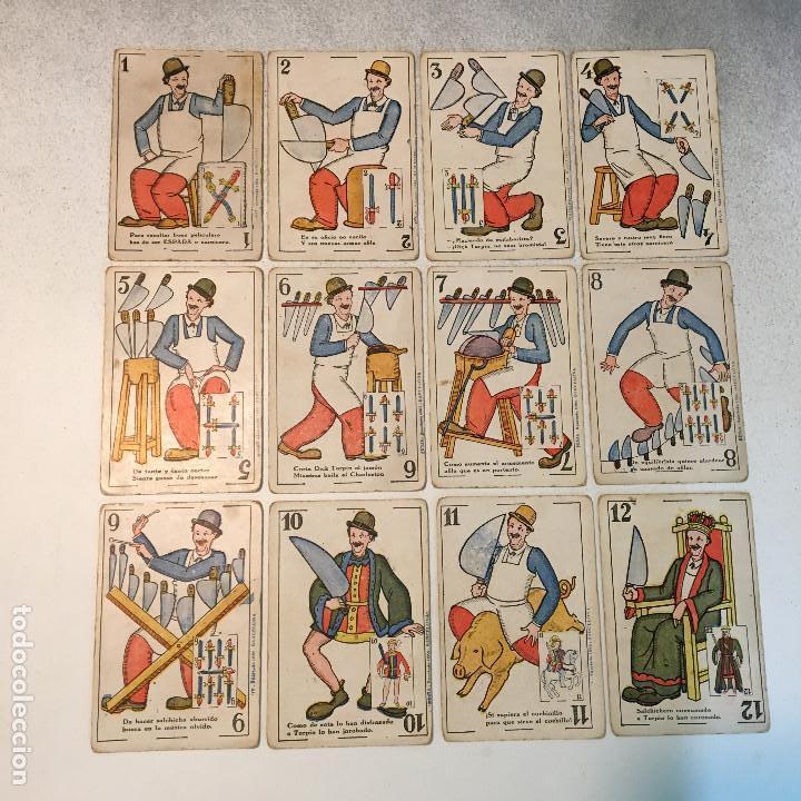 Barajas de cartas: ANTIGUA BARAJA DE CARTAS CHOCOLATES GUILLEN COMPLETA CON CHARLES CHAPLIN, HAROLD... - Foto 4 - 113630647