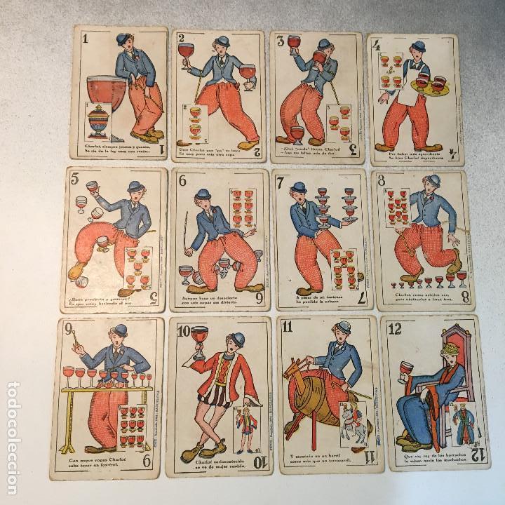 Barajas de cartas: ANTIGUA BARAJA DE CARTAS CHOCOLATES GUILLEN COMPLETA CON CHARLES CHAPLIN, HAROLD... - Foto 6 - 113630647