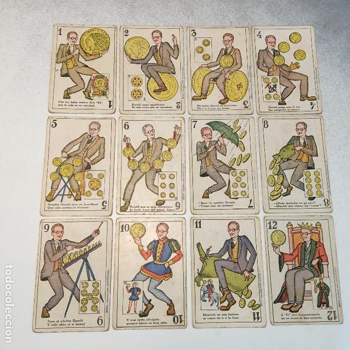 Barajas de cartas: ANTIGUA BARAJA DE CARTAS CHOCOLATES GUILLEN COMPLETA CON CHARLES CHAPLIN, HAROLD... - Foto 10 - 113630647