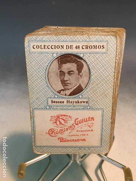 Barajas de cartas: ANTIGUA BARAJA DE CARTAS CHOCOLATES GUILLEN COMPLETA CON CHARLES CHAPLIN, HAROLD... - Foto 11 - 113630647
