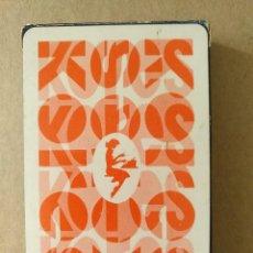 Barajas de cartas: BARAJA DE NAIPES FOURNIER KORES 50 CARTAS SIN USAR. Lote 113816879