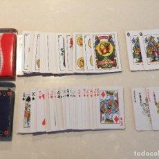 Barajas de cartas: BARAJA ESPAÑOLA COMAS COCA-COLA Y BARAJA DE POKER RARA. Lote 113908575