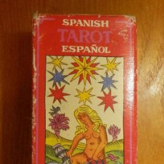 Barajas de cartas: BARAJA - TAROT ESPAÑOL - BILINGUE - COMPLETA - H. FOURNIER -. Lote 114196679