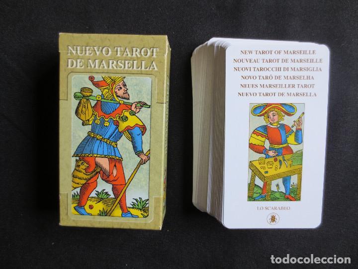 NUEVO TAROT DE MARSELLA, 78 CARTAS LO SCARABEO, 2005 (Juguetes y Juegos - Cartas y Naipes - Barajas Tarot)