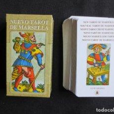 Barajas de cartas: NUEVO TAROT DE MARSELLA, 78 CARTAS LO SCARABEO, 2005 . Lote 114240975