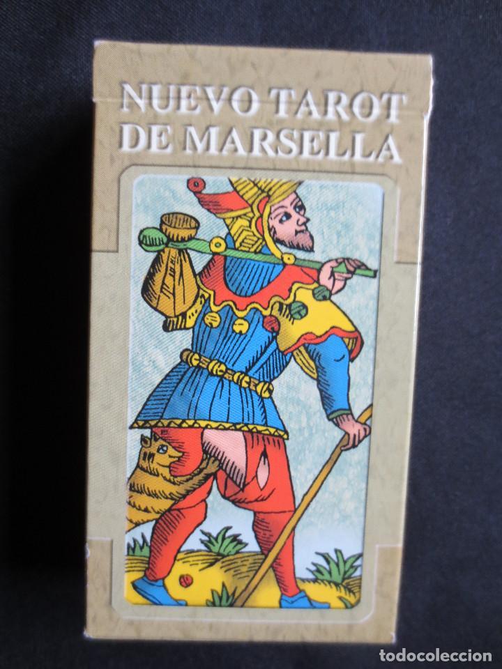 Barajas de cartas: NUEVO TAROT DE MARSELLA, 78 CARTAS LO SCARABEO, 2005 - Foto 2 - 159444065