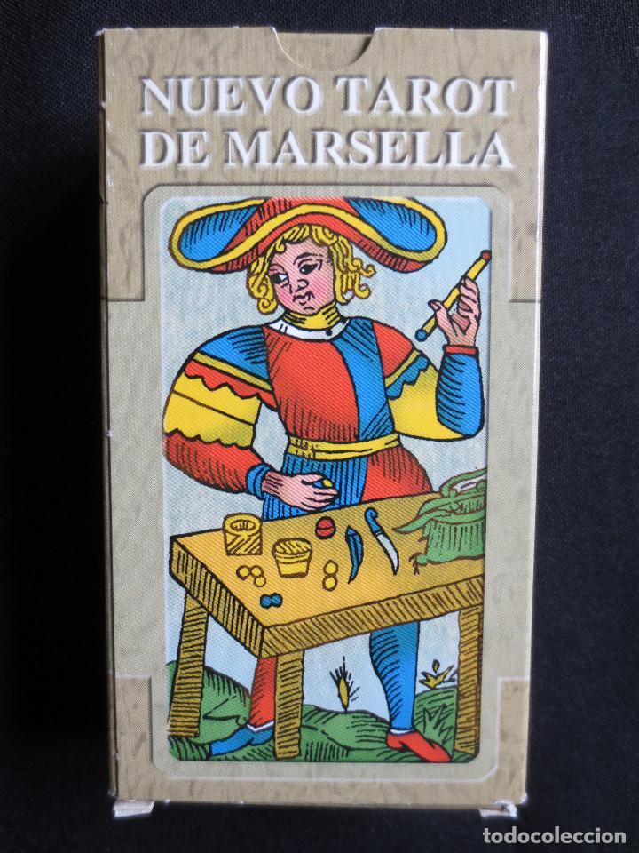 Barajas de cartas: NUEVO TAROT DE MARSELLA, 78 CARTAS LO SCARABEO, 2005 - Foto 3 - 159444065