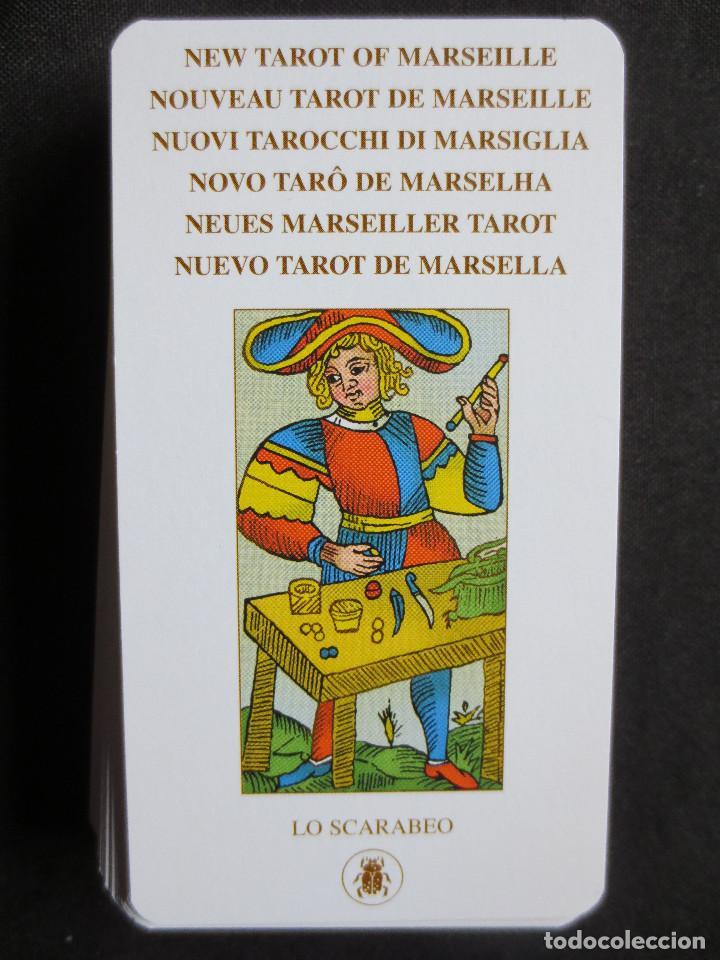 Barajas de cartas: NUEVO TAROT DE MARSELLA, 78 CARTAS LO SCARABEO, 2005 - Foto 5 - 159444065