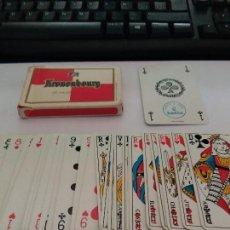 Barajas de cartas: BARAJA DE CERVEZA KRONEMBOURG. Lote 114270515