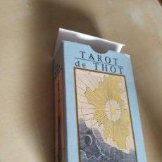 Barajas de cartas: TAROT DE THOT DE ETTEILLA (LO SCARABEO 2001). Lote 114512271