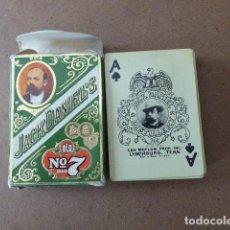 Barajas de cartas: BARAJA POKER JACK DANIELS OLD Nº 7 CAJA VERDE. Lote 114536383