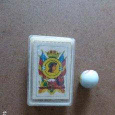 Barajas de cartas: BARAJA MINI. PLIEGO. Lote 114546547