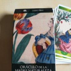 Barajas de cartas: ORÁCULO-TAROT DE LA MADRE NATURALEZA. Lote 114611692
