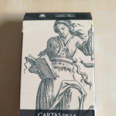 Barajas de cartas: CARTAS DE LA SABIDURÍA, LO SCARABEO 2003. Lote 114615336