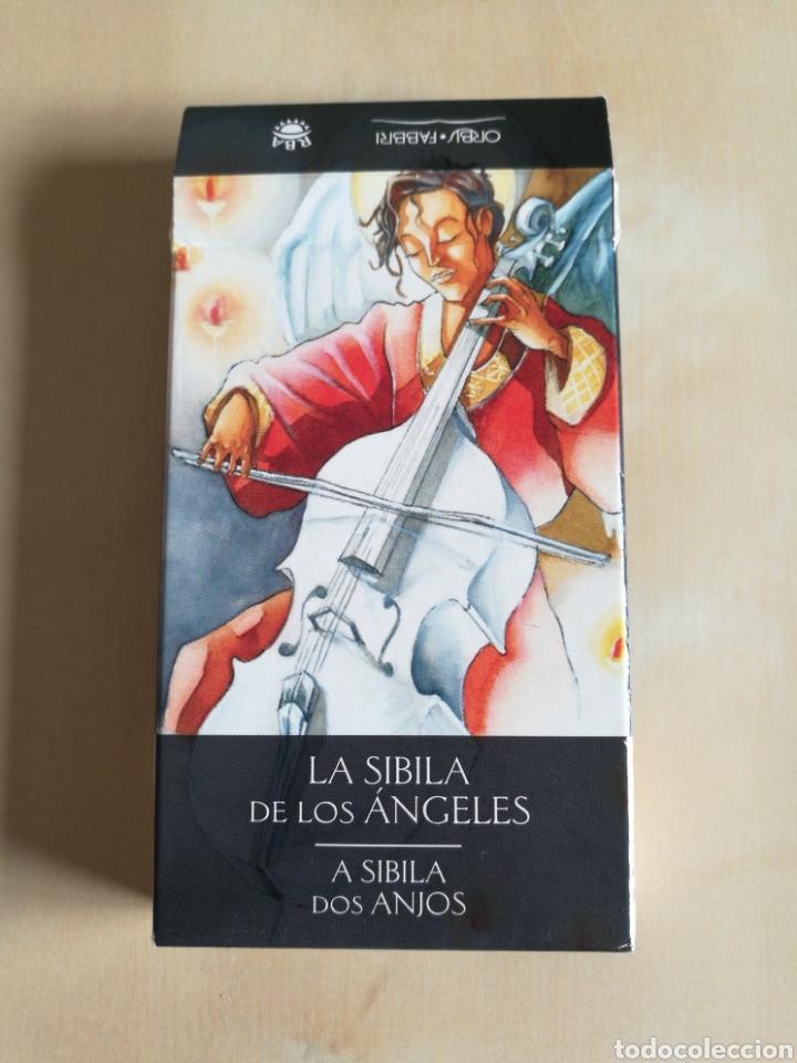 LA SIBILA DE LOS ÁNGELES, LO SCARABEO 2003 (Juguetes y Juegos - Cartas y Naipes - Barajas Tarot)