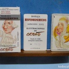 Barajas de cartas: BARAJA HISPANOAMERICANA. ILUSTRACIONES DE ORTUÑO (EDICIÓN NÚMERADA). Lote 114698207