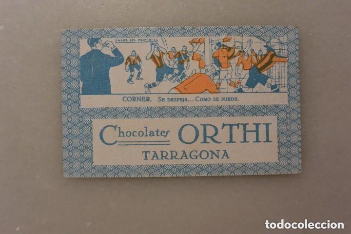 Barajas de cartas: CARTA BARAJA DE FUTBOL POLOLO ATHLETIC BILBAO. AÑOS 20. CHOCOLATES ORTHI - Foto 2 - 114745287