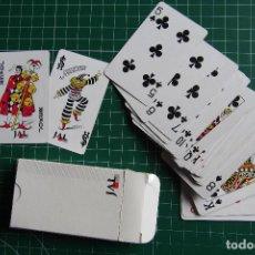 Barajas de cartas: BARAJA CARTAS MINI LINEAS AEREAS JAPONESAS. JAPAN AIRLINES. NUEVA CON CAJA. VER FOTOGRAFIAS. Lote 114773595