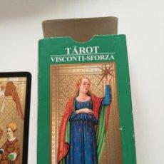 Barajas de cartas: TAROT VISCONTI SFORZA, LO SCARABEO 2001. Lote 114781232