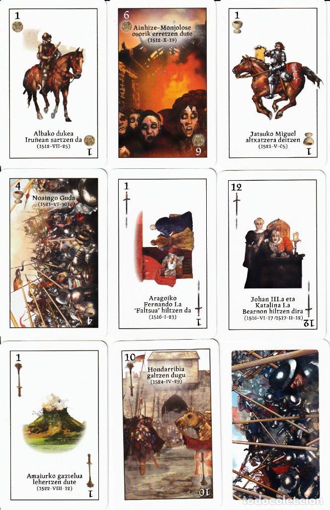 BARAJA ESPAÑOLA DE LA CONQUISTA DE NAVARRA (Juguetes y Juegos - Cartas y Naipes - Otras Barajas)