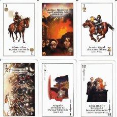 Barajas de cartas: BARAJA ESPAÑOLA DE LA CONQUISTA DE NAVARRA. Lote 116208464