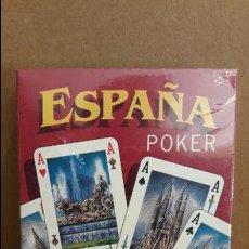 Barajas de cartas: BARAJA PÓKER / 200 ANIV. NAIPES COMAS / ESPAÑA / 54 CARTAS ILUSTRADAS / MONUMENTOS / PRECINTADA. Lote 114882247