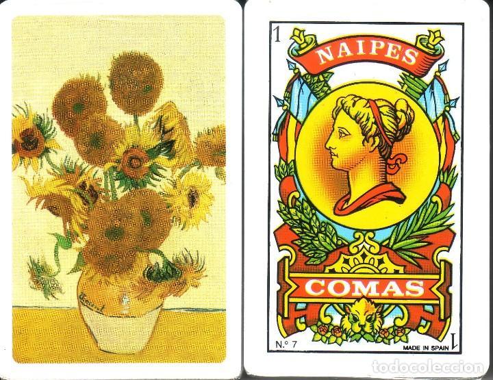 LOS GIRASOLES - VAN GOGH - BARAJA ESPAÑOLA DE 40 CARTAS (Juguetes y Juegos - Cartas y Naipes - Otras Barajas)