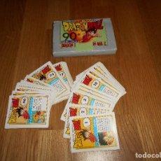 Barajas de cartas: COLECCIÓN 86 DRAGON BALL EDICIONES ESTE 90 CARDS (BOLA DE DRAGON CARTAS) 1986 COMPLETA B.E.. Lote 195197652