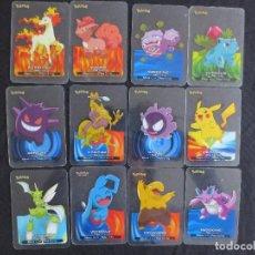 Barajas de cartas: LOTE DE 63 LAMINCARDS DE POKEMON 2005 EDIBAS. Lote 115082079