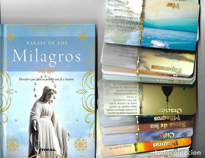 ESPECTACULAR BARAJA DE LOS MILAGROS EN SU CAJA CON LIBRO EXPLICATIVO. . NUEVA. TIKAL. 40 CARTAS.LUJO (Juguetes y Juegos - Cartas y Naipes - Barajas Tarot)