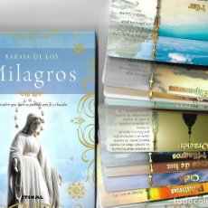 Barajas de cartas: ESPECTACULAR BARAJA DE LOS MILAGROS EN SU CAJA CON LIBRO EXPLICATIVO. . NUEVA. TIKAL. 40 CARTAS.LUJO. Lote 115107775