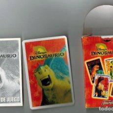 Barajas de cartas: CAJA BARAJA FOURNIER DISNEY DINOSURIO COMPLETA + REGALO. Lote 115173715