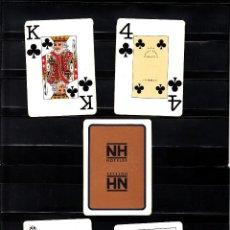 Barajas de cartas: BARAJA PUBLICITARIA DE NH HOTELES. Lote 115293743