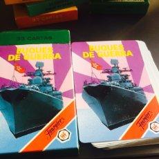 Barajas de cartas: BARAJA INFANTIL BUQUES DE GUERRA. Lote 115450326