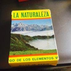Barajas de cartas: BARAJA EDUCATIVA LA NATURALEZA. Lote 115451376