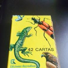 Barajas de cartas: BARAJA INFANTIL EDICIONES RECREATIVAS NATURALEZA. Lote 115452868
