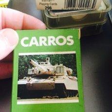 Barajas de cartas: BARAJA INFANTIL CARROS DE COMBATE. Lote 115460094