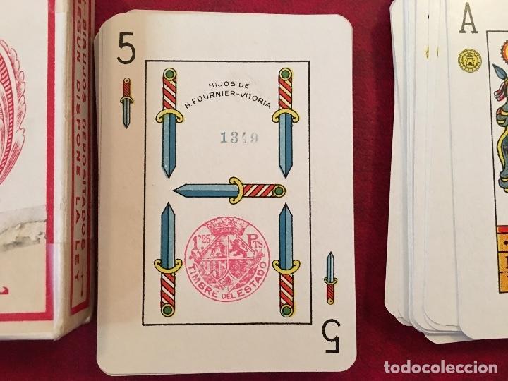Barajas de cartas: BARAJA POKER ESPAÑOL Nº 20 1939 HIJOS DE HERACLIO FOURNIER VITORIA - Foto 7 - 58604649