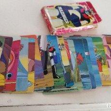 Barajas de cartas: MAZINGER Z - BARAJA INCOMPLETA, A FALTA DE LAS CARTAS 4 Y 5 ROJAS. Lote 115469655