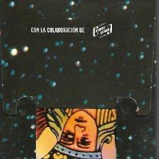 Barajas de cartas: CARPETA CON LIBRO Y ARCANOS DEL TAROT CONOCE TU FUTURO. Lote 115546419