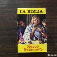 Barajas de cartas - ANTIGUA BARAJA CARTAS INFANTIL COMPLETA LA BIBLIA NUEVO TESTAMENTO ED FOURNIER - 115592371