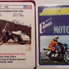 Barajas de cartas: BARAJA CARTAS. MINICART MOTOS.COMAS. NUEVA.. Lote 115616907