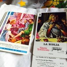 Barajas de cartas: BARAJA DE LA BIBLIA SIN CAJA. Lote 115698680