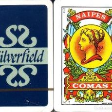 Barajas de cartas: SILVERFIELD - BARAJA ESPAÑOLA 40 CARTAS. Lote 115881703