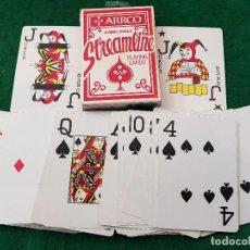 Barajas de cartas: BARAJA POKER JUMBO INDEX STREAMLINE - ARRCO - MADE IN U.S.A.. Lote 115898575