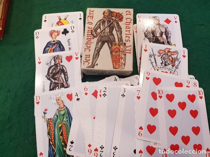 BARAJA POKER - JEU JEHANNE D'ARC ET CHARLES VII - EDITIONS DUSSERRE (Juguetes y Juegos - Cartas y Naipes - Barajas de Póker)