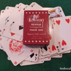 Barajas de cartas: BARAJA POKER KENTUCKY - GRIMAUD. Lote 115904739