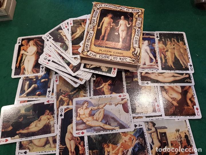 BARAJA POKER - EL DESNUDO EN EL ARTE - FOURNIER (Juguetes y Juegos - Cartas y Naipes - Barajas de Póker)